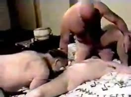 Brokeback Boy Sucks both Grand Daddies - amature home video
